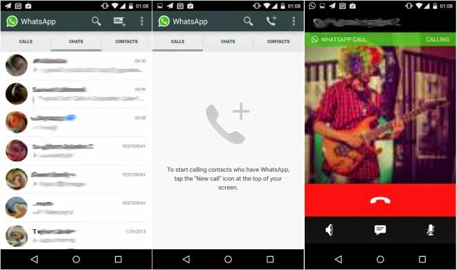 WhatsApp libera ligações de voz