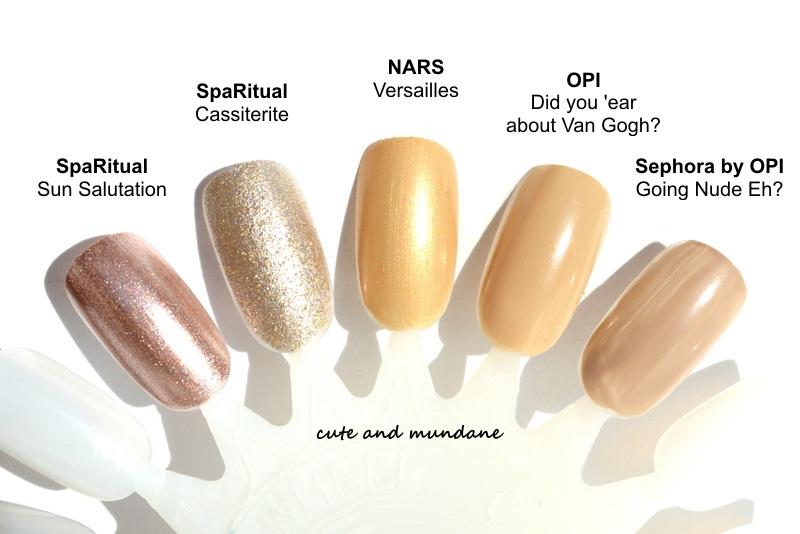 Cute and Mundane: NARS Versailles nail polish review + swatches