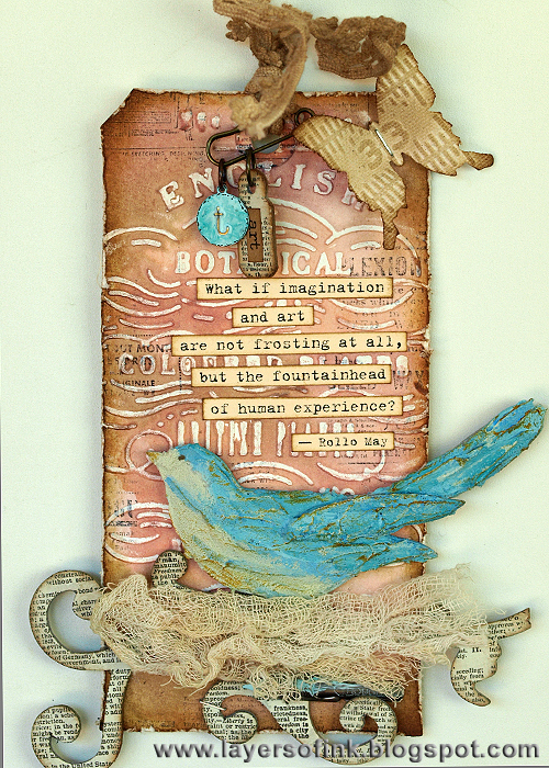 Thank you Tammy Blog Hop - Layers of ink