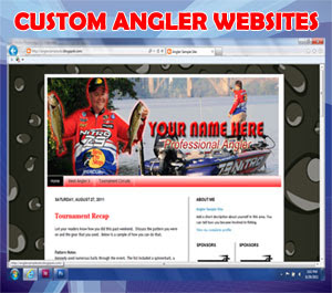 Custom Angler Websites
