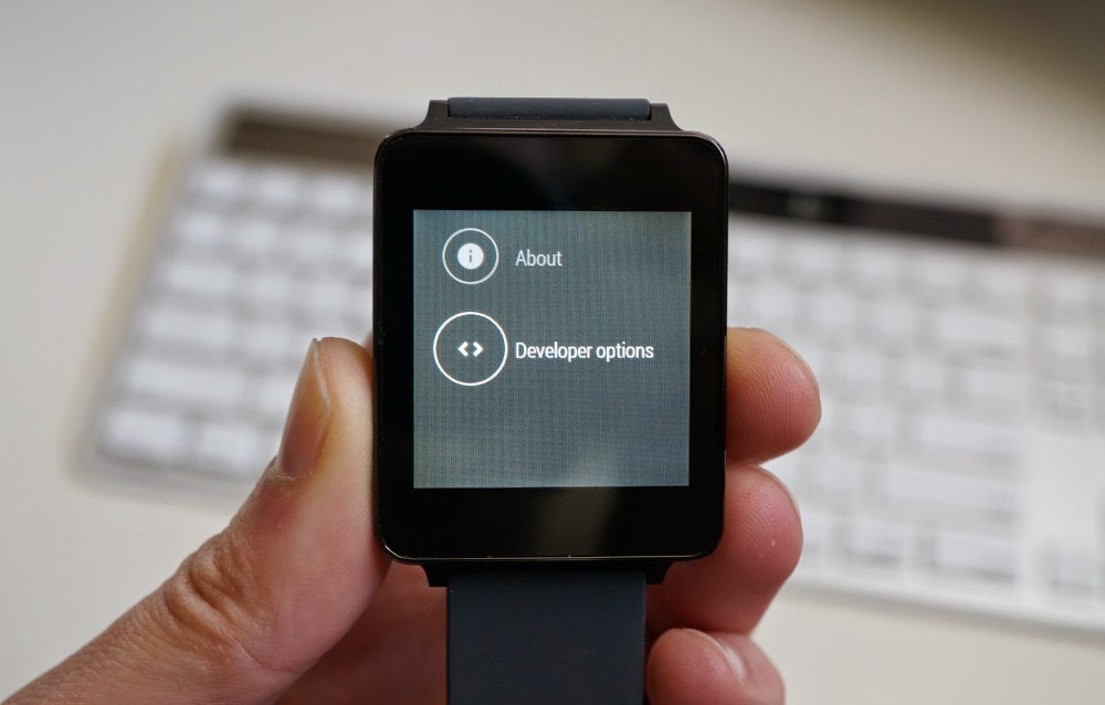 Debugging on Android Wear