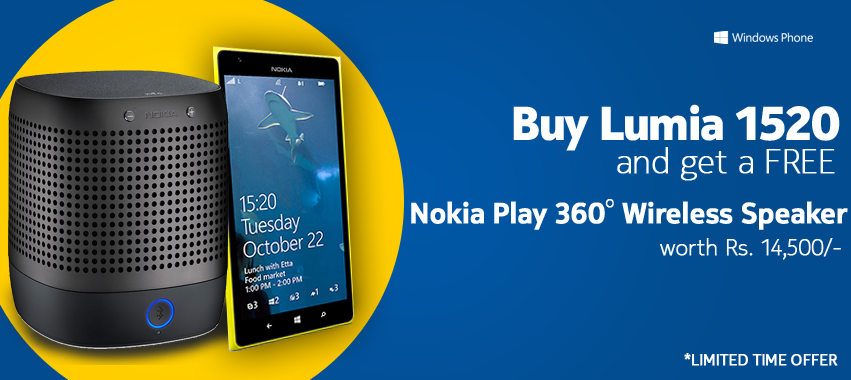 Nokia Play 360 Wireless Speaker