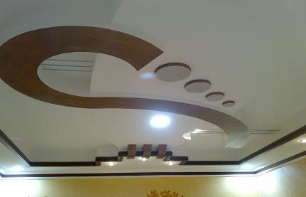 Picture Gypsum Board Roof Decorations