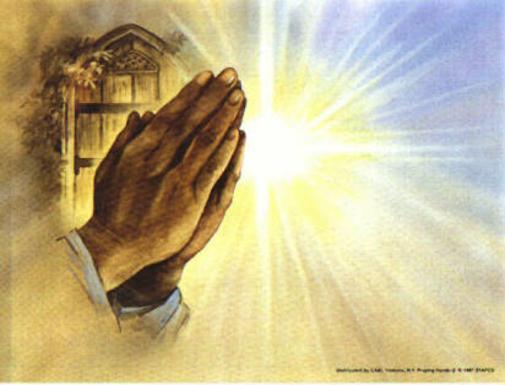 Resultado de imagem para mãos juntas rezando