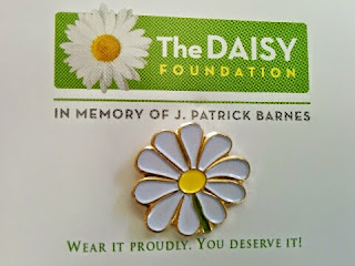 Daisy award pin