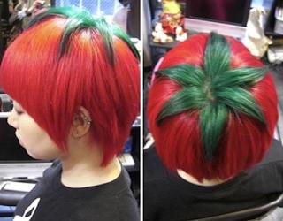 Contoh Model Gaya Rambut Tomat Unik dan Aneh