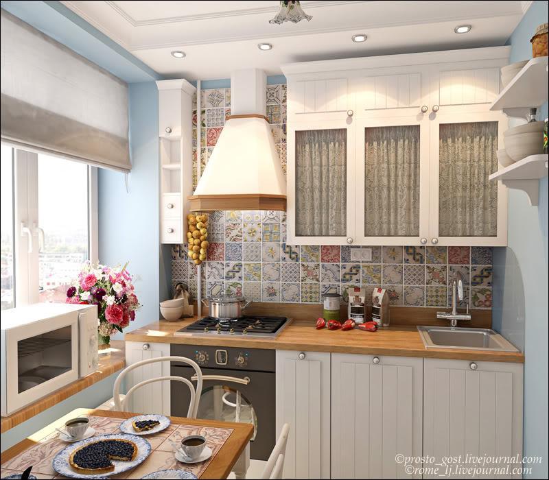 міні кухня фото