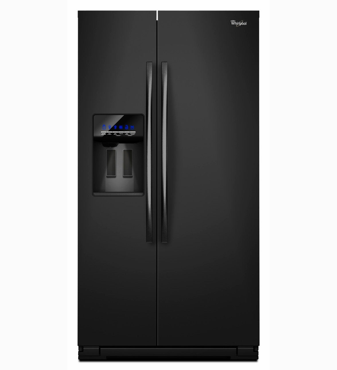 whirlpool refrigerator brand wsf26c2exb side by side refrigerator. Black Bedroom Furniture Sets. Home Design Ideas