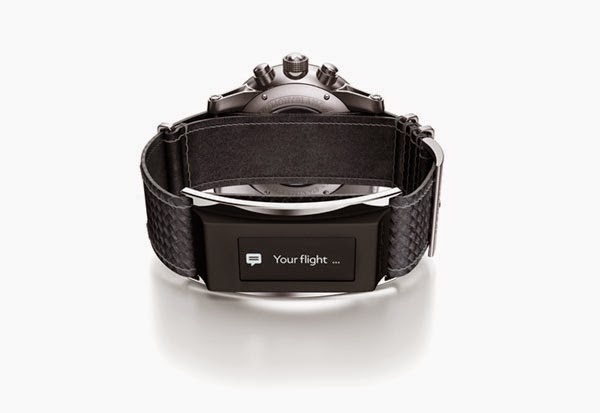 Montblanc's TimeWalker Urban Speed e-Strap adds smartwatch functionality to standard watches