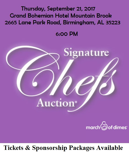 The Birmingham Signature Chef's Auction