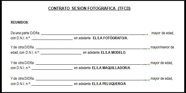 El contrato de intercambio tfcd for Modelo contrato de trabajo servicio domestico 2015