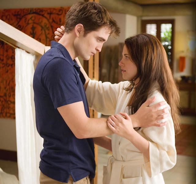 Twilight Edward and Bella Breaking Dawn Part 1