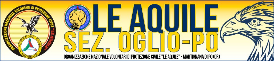 """Volontari di Protezione Civile """"Le Aquile Oglio-Po"""""""