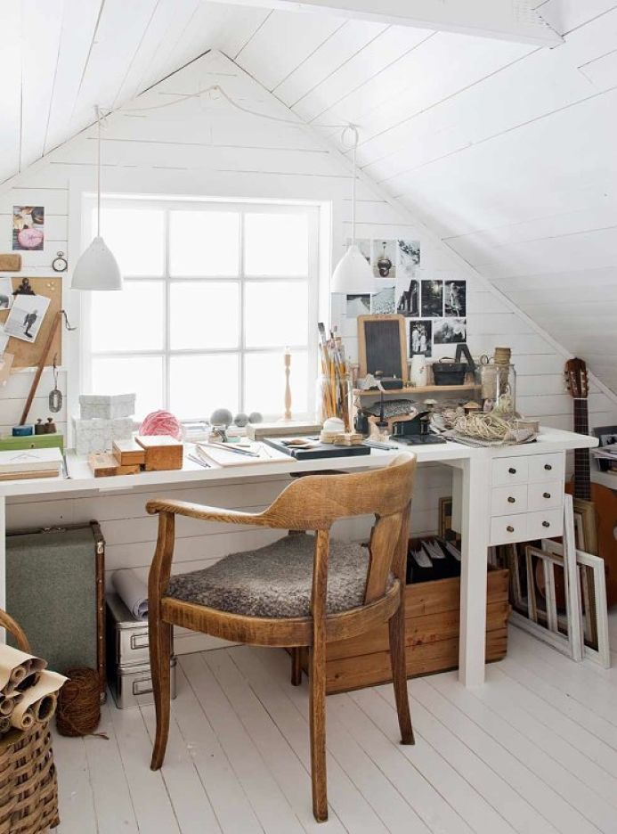Casa de estilo nórdico campestre