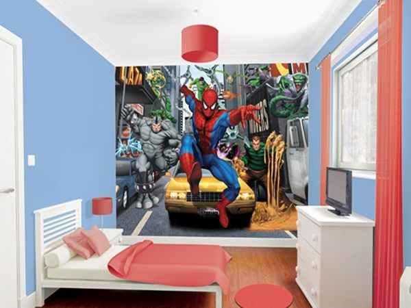 Semoga 27 Contoh Desain Wallpaper Dinding Kamar Tidur Minimalis Modern