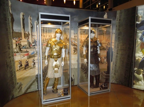 Screen-used Exodus Gods and Kings costumes