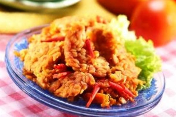 Sambal Tempe Penyet. Nusantara Culinary