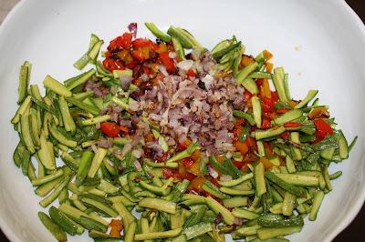 insalata pasta verdure