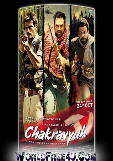 Poster Of Bollywood Movie Chakravyuh (2012) 300MB Compressed Small Size Pc Movie Free Download World4ufree.Org