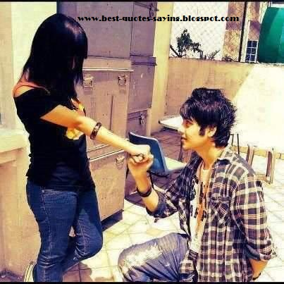 Girl   Love on Best Quotes Saying Blo   Boy Propose To Girl