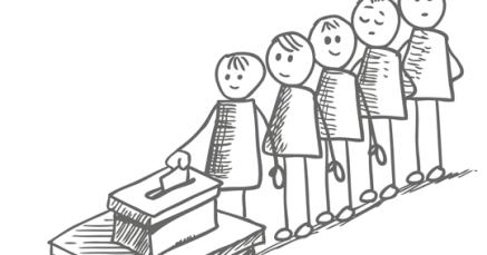 Risultati immagini per giovani al voto