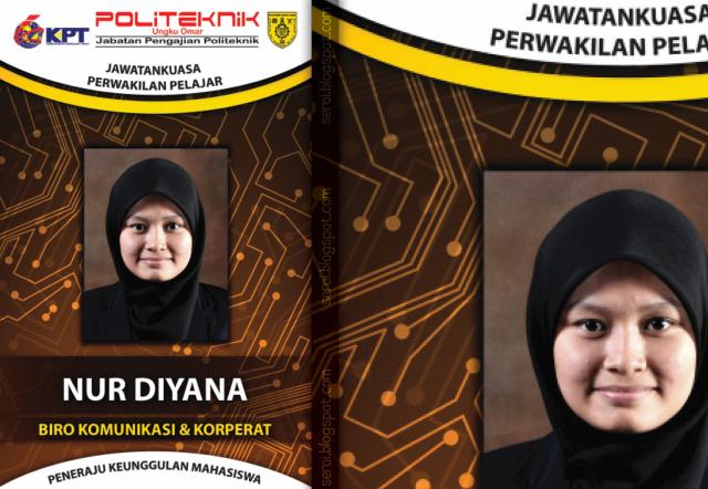 Design - Kad Matrik JPP Politeknik Ungku Omar