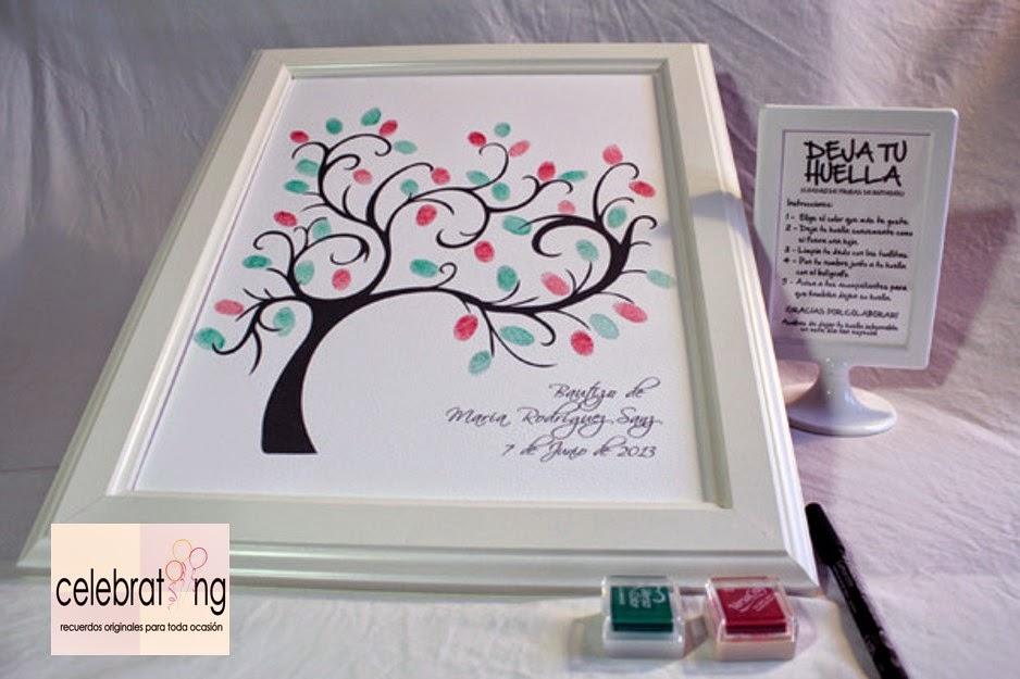 celebrating: Árbol de huellas para bodas y celebraciones (cuadros de ...