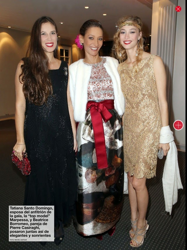 Andrea Casiraghi attended the annual party of the Foundation Motrice