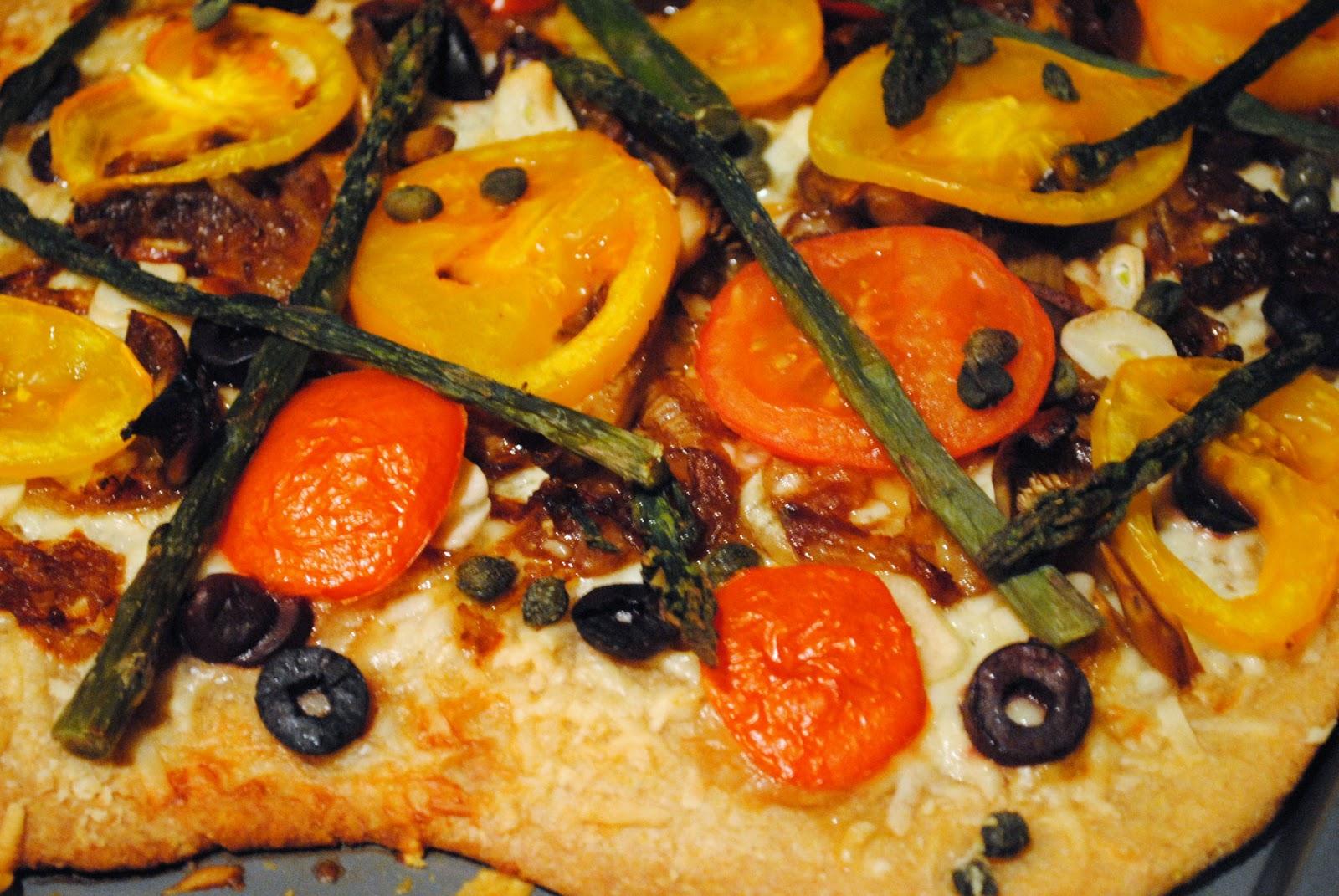 Veggies for Carnivores: Roasted Vegetable Tart
