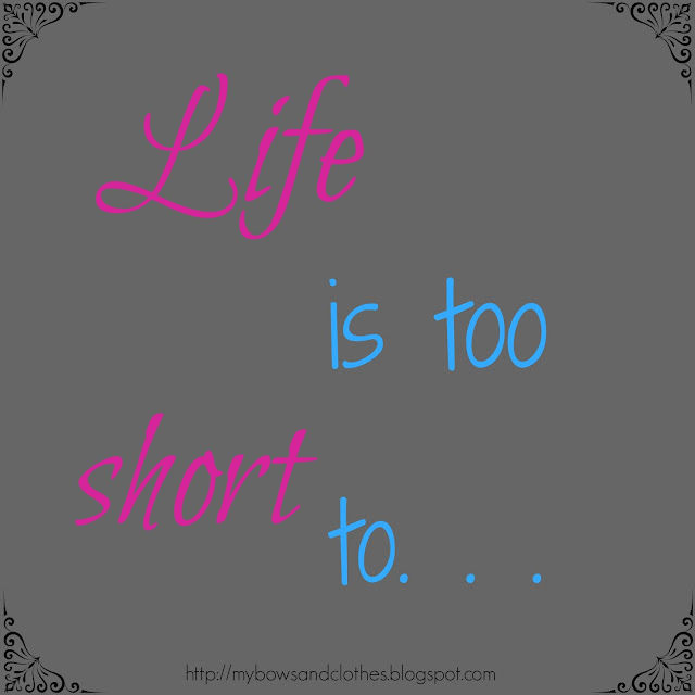 life is too short to live in fear to focus on the future encouragement