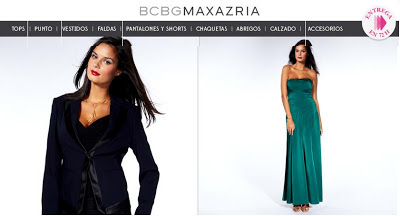 oferta de la marca BCBG para mujeres
