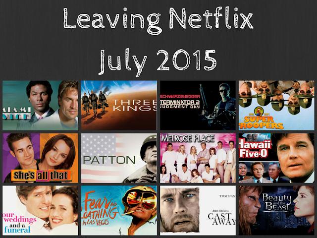 Leaving Netflix July 2015 #streamteam