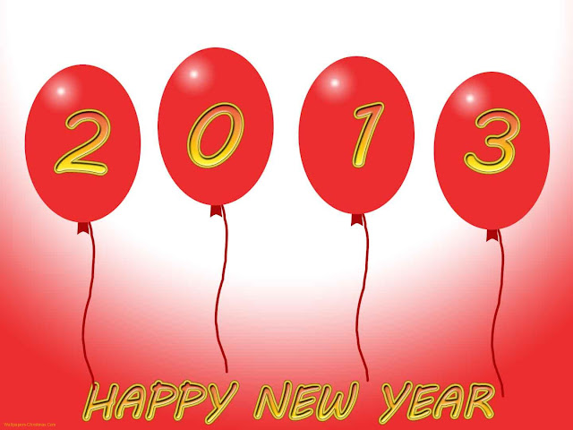 Download wallpapers happy new year 2013!