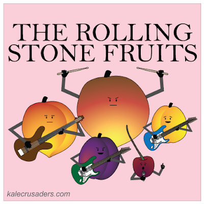 The Rolling Stone Fruits - Peach, Nectarine, Plum, Cherry, Apricot