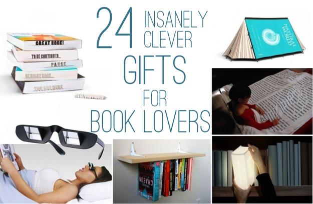 Presentes para amantes de livros