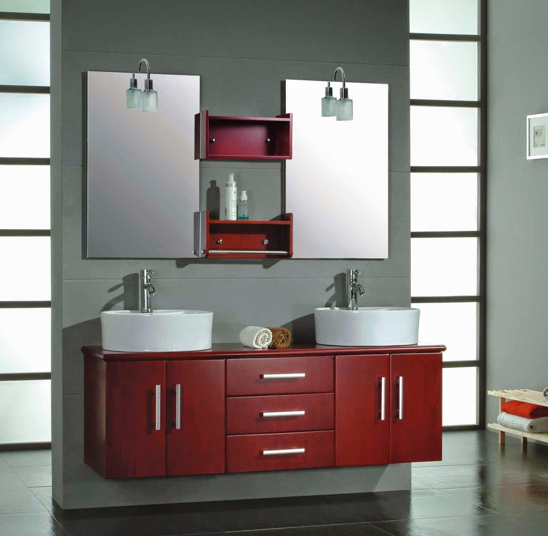 elegir muebles de bao modernos with muebles de bao de madera rusticos
