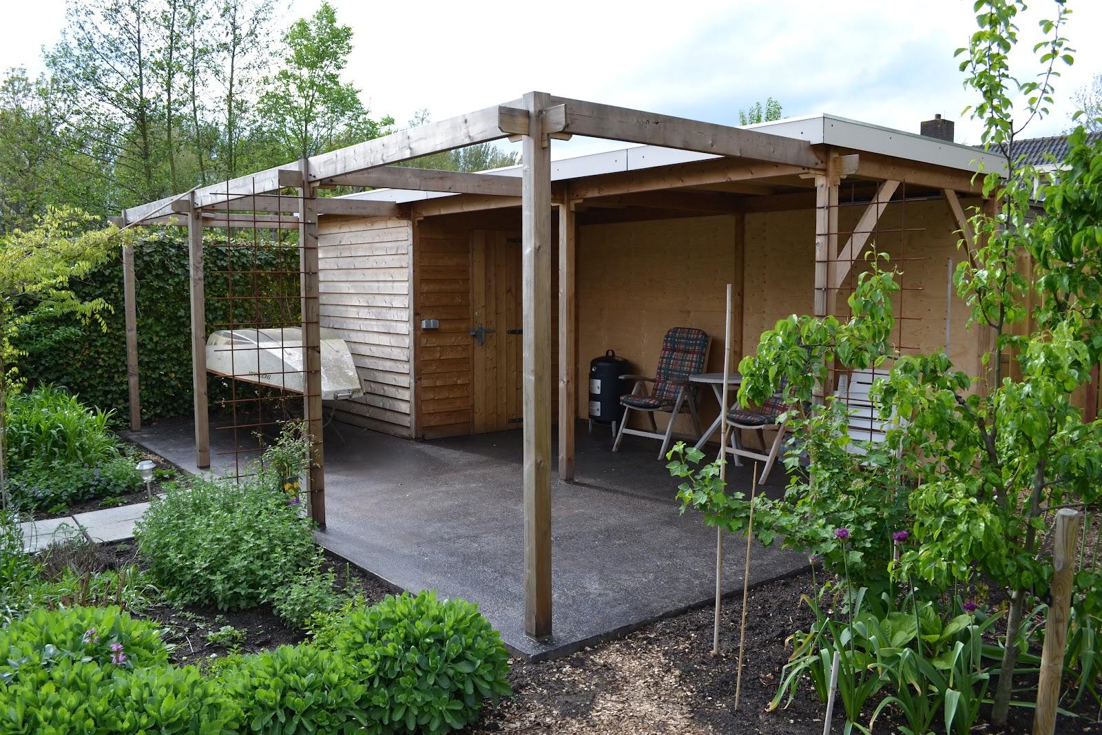 Meubelmakerij de swarte schuur veranda op z 39 n hollands - Overdekt terras in hout ...