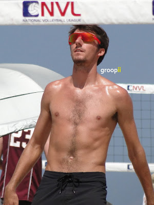 Jeff Carlson Shirtless at the NVL Malibu 2011