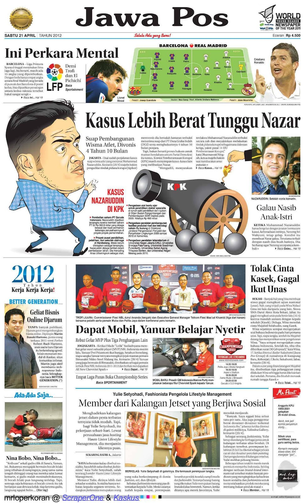 Pdf hari jawa koran pos ini