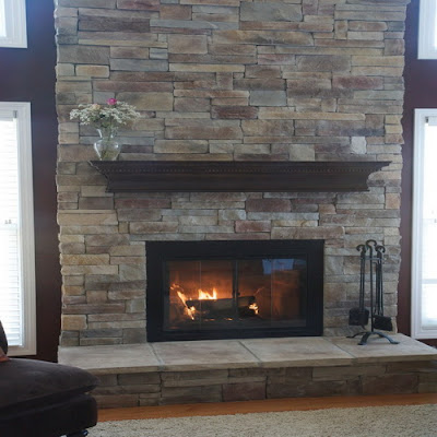 Home And Apartment Designs How To Remove Paint From Brick Fireplace