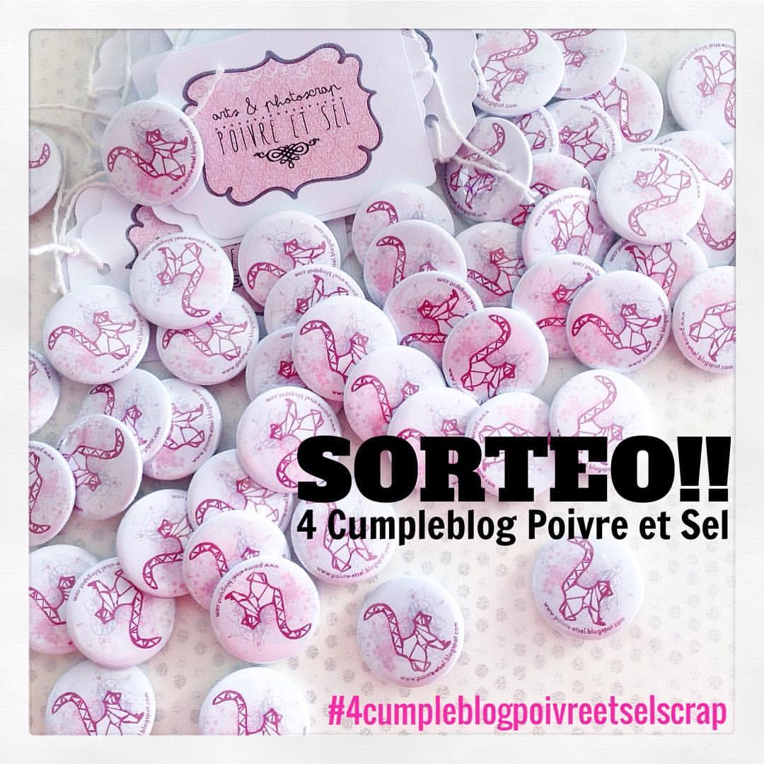 SORTEO 4º Cumple Blog
