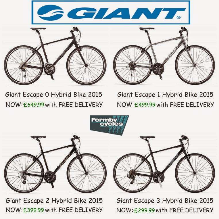 Giant Escape 2015 Hybrid Bikes for Sale