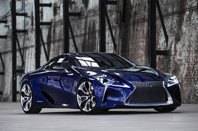 Lexus LF-LC Blue Concept (2012) Front Side 1