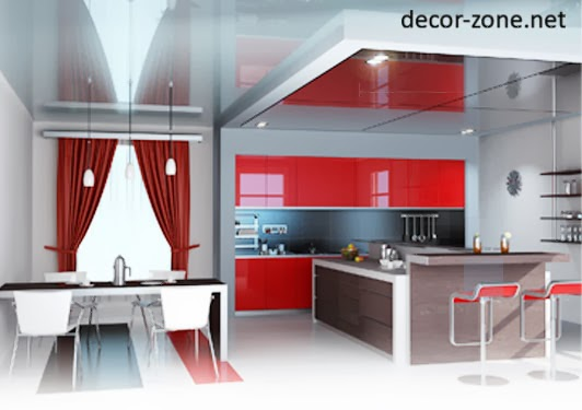 Stylish kitchen ceiling designs ideas photos and types Different types of kitchen designs