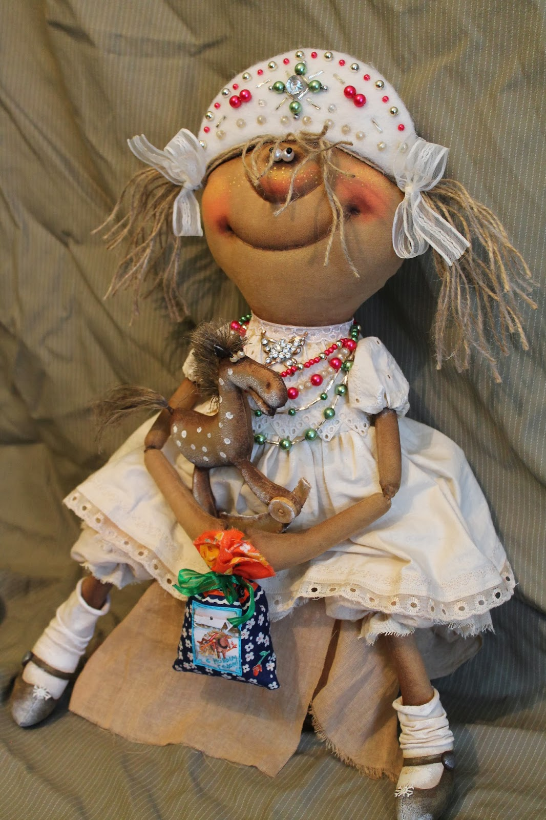 примитивная текстильная кукла выкройка