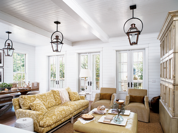 nautical living room a combination of blues and whites and
