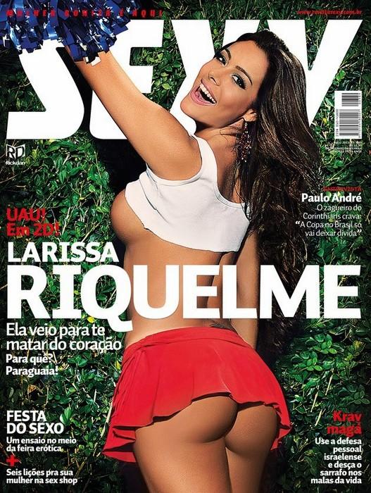Fotos de Larissa Riquelme pelada na Sexy