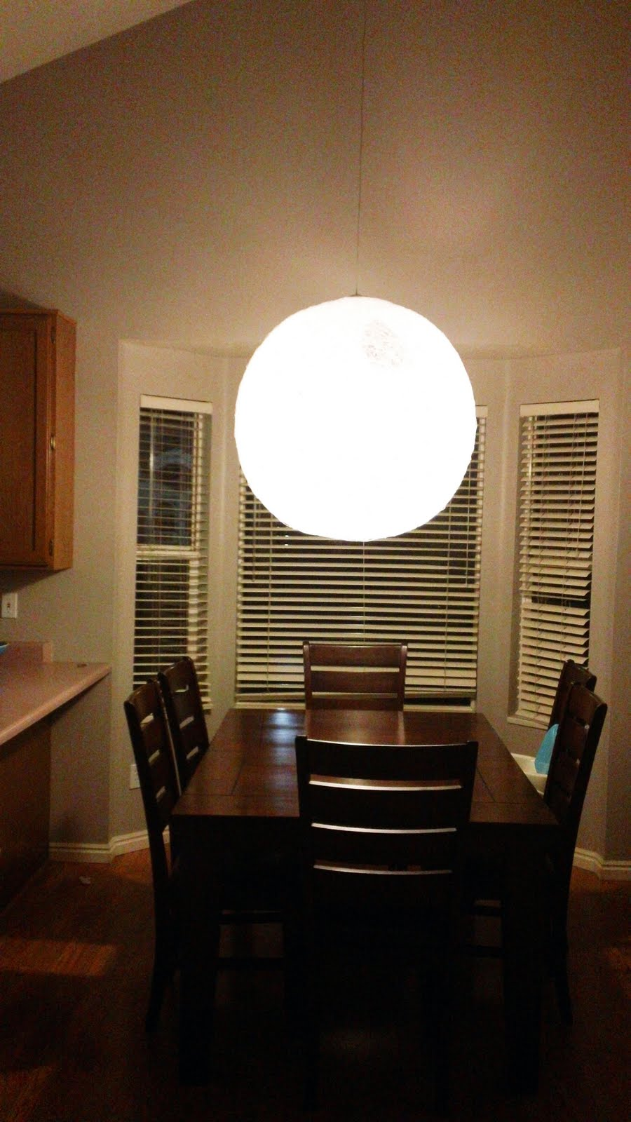 How to make your NEW favorite Dining Room Fixture. - Chris Loves Julia