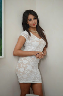 Actress Sanjjanaa  Pictures in Short Dress at Sapphire Spa Launch  1