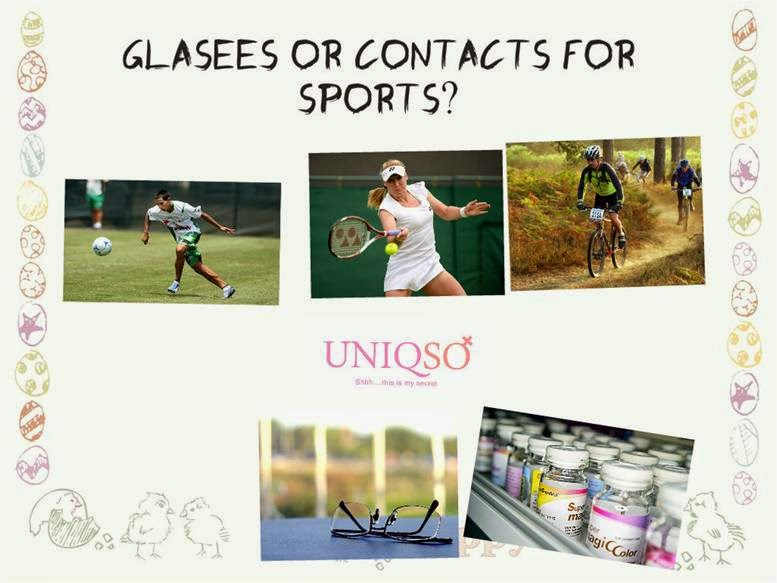 Are Circle Contact Lenses any Safer for Sports than Glasses?